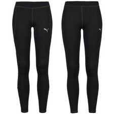 Puma ESS Long stretto Unisex Fitness Sport Pantaloni training nero collant NUOVO