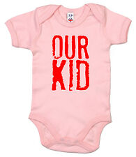 "Dirty Fingers "" Our KID "" DIVERTENTE BODY TUTINA BAMBINO REGALO NEONATO"