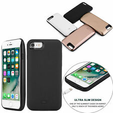 iPhone 7/7 Plus 5200/7500mAh Batterie Case Zusatzakku Extern Akku Power Pack