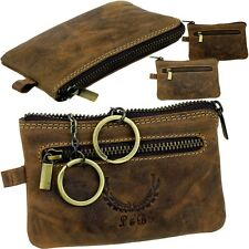 L&B Key Pouch Leather Key Case Money Card Case gedbeutel Wallet NEW