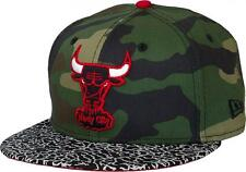 New Era NBA Chicago Bulls Camuflaje Gancho Cap 59fifty 5950 Fitted Windy City