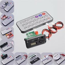 MP3 Decoder Board Audio Receive Module + Remote U-Disk/TF Card di Car