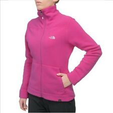 The North Face Women 200 Polartec Shadow Full Zip Fleecejacke fuschia pink /flam
