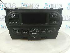 2005 PEUGEOT 206 DIGITAL HEATER CONTROLS WITH A/C AUTO 96430550XT