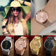 Charm Women Men Unisex Stainless Steel Watches Dial Analog Quartz Wrist Watch