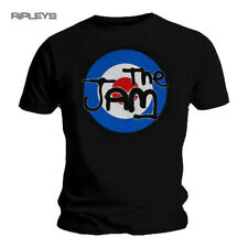 Official  T Shirt THE JAM Black Spray Colour Logo TARGET Classic All Sizes