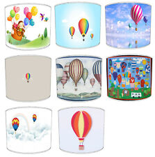 Children`s Hot Air Balloons Lampshades Ideal To Match Hot Air Balloon Duvets.
