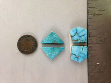 Turquoise/Lapidary/Rough/Custom/Cabochons 32 cts Natural Turquoise Mountain SETS