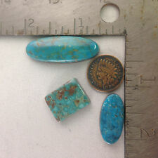 Turquoise/Lapidary/Rough/Custom/Cabochons 55 cts OLD BATTLE MOUNTAIN Blue Gem