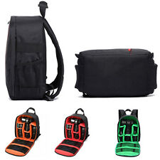 Waterproof DSLR Camera Case Backpack Shoulder Bag For Canon Nikon Sony 3 Option