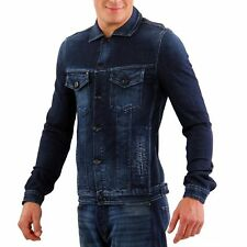 JACK & JONES Herren Jeans Jacke O RIVER DENIM Dark Blue JC161008