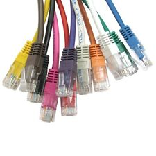 RJ45 Cavo Di Rete Ethernet Cat5e 100% PURO COPPER LAN UTP Patch All'ingrosso