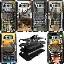 Durable Heavy Duty Hybrid Protective Dual Layer Case for Samsung Phone Models