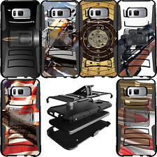 Heavy Duty Hybrid Durable Protective Dual Layer Case for Samsung Phone Models