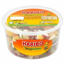 1 or 2 TUBS HARIBO TANGFASTICS SWEETS BOX PARTY FAVOURS TREATS DISCOUNT CANDY