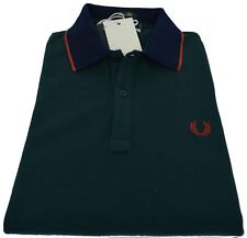 Polo T-shirt Maglia Uomo Men Fred Perry Made Italy 30102276