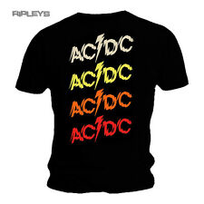 Official T Shirt ACDC AC/DC Album POWERAGE Repeat Logo Black All Sizes