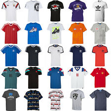 adidas MEN'S CREW NECK T SHIRT COTTON SPORTS FASHION ORIGINALS ESSENTIALS SUMMER