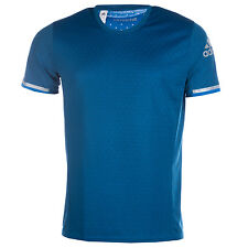 Mens adidas Climachill T-Shirt In Shock Blue From Get The Label