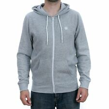 Element Cornell Zip Hooded Sweatshirt Heather Grey Hoodie New Free Delivery