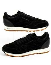 Reebok Classic Leather SG Trainers in Black & Chalk - soft tonal suede