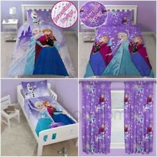 DISNEY FROZEN Flocon de neige Housse de couette ensembles simple et Junior &