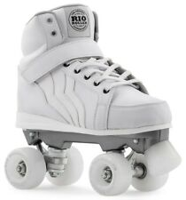 RIO ROLLER Kicks bambini/adulti Quad / Pattini a rotelle - Bianco