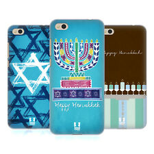 HEAD CASE DESIGNS HANUKKAH COVER RETRO RIGIDA PER XIAOMI Mi 5c