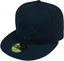 New Era Toronto Raptors HWC Black On Black 59fifty Fitted Cap Limited Edition