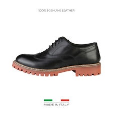 Chaussures à lacets Made in Italia - LUCA Homme Noir