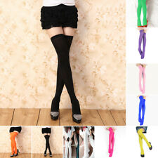 f55f5248a73 Women Extra Long Boot Socks Over Knee Thigh High School Girl Fashion  Stocking