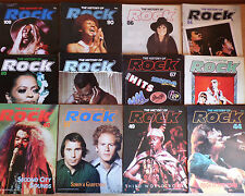 The History of Rock Magazine Orbis 1980s - Choose Your Issue from Drop-down menu
