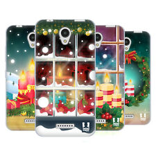 HEAD CASE DESIGNS HOLIDAY CANDLES SOFT GEL CASE FOR LENOVO A PLUS