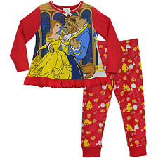 Disney Beauty and the Beast Pyjamas | Girls Beauty & Beast PJs | Disney Pyjamas