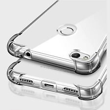 360° Shockproof Clear Silicone Soft TPU Back Case Cover Skin Fr Huawei P10 Lite