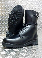 Genuine Italian Military / Police Issue Hi Leg Combat / Assault Boots BIG SIZES