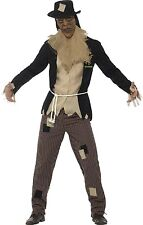 Mens Goosebumps Scarecrow Halloween Horror Book Film Fancy Dress Costume Outfit