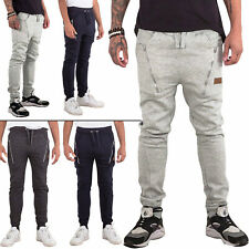 Mens Skinny Gym Trousers Pants Joggers Jogging Bottoms Tracksuit Sweat Sports