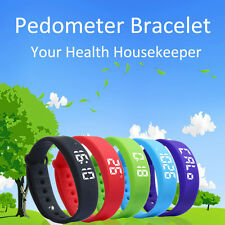 Sports Activity Tracker Bracelet Pedometer Fitness Counter Watch Band Nice