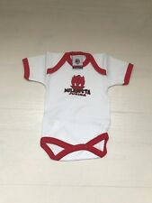 3354 AC MILAN BABY NEONATO BODY COTONE M/CORTA INFANT OFFICIAL WEAR MIL001