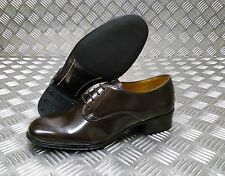 Genuine British Military Issues Womens Service Brown Gibson Shoe Leather Shoes