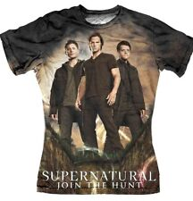 Tee shirt femme Supernatural tee shirt Sublimation group Supernatural tee shirt