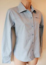 Womens Sherwood Forest Shirt Size 8 10 12 18 New Ladies Blue Cotton Long Sleeve