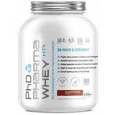 PHD Supplements Pharma Whey HT+ Protein Powder Muscle Growth Recovery - 2.27KG