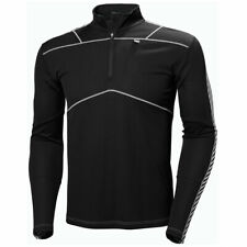 Helly Hansen Mens Lifa 1/2 Zip LS Fitness Exercise Base Layer Top