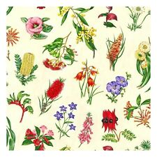 Wildflowers Countryside Blooming Floral 100% Cotton Patchwork Fabric (Nutex)