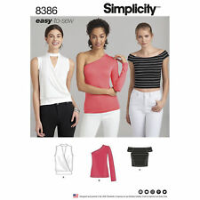 Simplicity Pattern 8386 Womens Knit Top