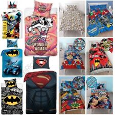 Officiel DC COMICS Housse de couette ensembles Wonder Woman Batman Superman