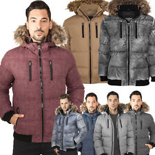 URBAN CLASSICS EXPEDITION JACKET WINTER JACKE PARKA STEPP HERREN KAPUZE S-3XL