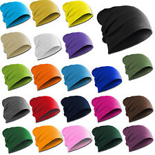 Gorro Largo Slouch Moderno Invierno Flap Unisex Hombres Mujeres 20 Colores 4
